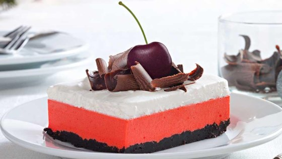 Photo of Cherry-Chocolate Layered Dessert by Kraft