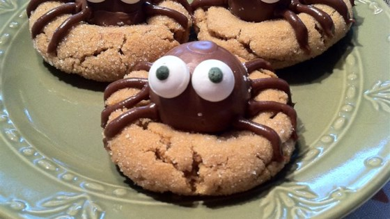 Photo of Peanut Butter Spider Cookies by What's for dinner, mom?