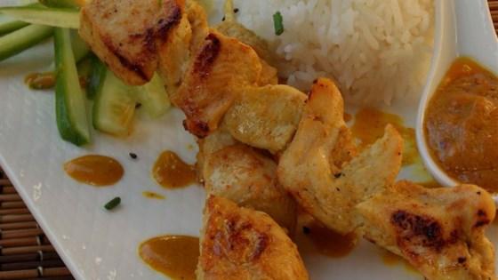 Photo of Chicken Satay With Peanut Sauce by Allrecipes
