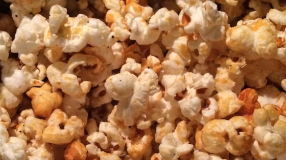Photo of Spicy Sweet Stovetop Popcorn by TRANQUILTREE