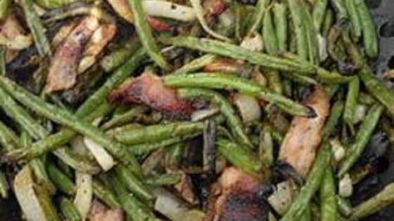 Photo of Grilled Fresh Green Beans by lynn socko