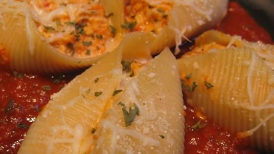 Tofu and Cheese Stuffed Shells