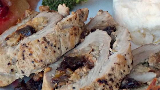 Photo of Stuffed and Rolled Pork Tenderloin  by Chef John