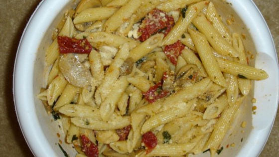 Photo of Garlic Penne Pasta by Taliesen