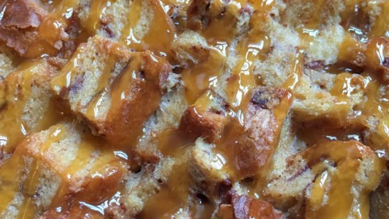 Photo of Maple Caramel Bread Pudding by WebsByMegan