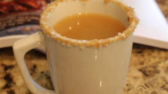 Photo of Caramel Apple Cider with Salty-Sweet Rim by Diamond Crystal Salt