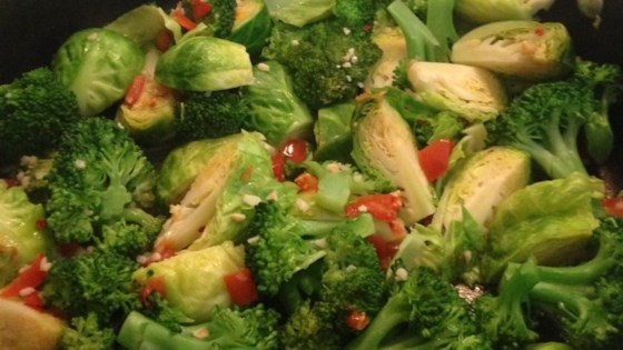Photo of Broccoli and Brussels Sprout Delight by Howard