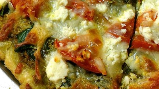 Photo of Fresh Pesto Pizza by greg.freed