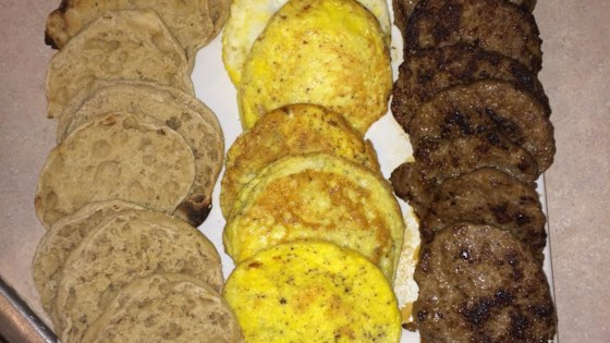 Photo of Freezer Breakfast Sandwiches by HannahSilvestre8214