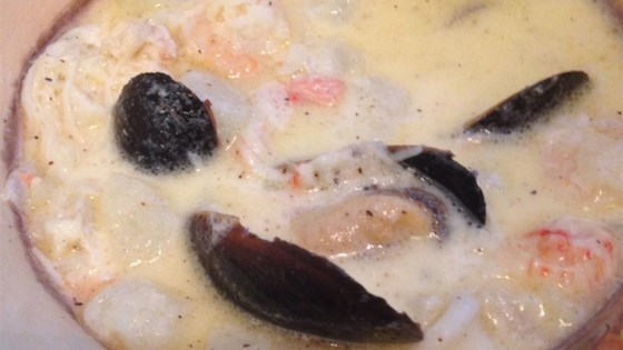 Mom's Nova Scotia Seafood Chowder