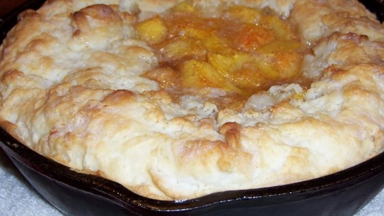 Photo of Skillet Peach Pie by ARVILLALAR