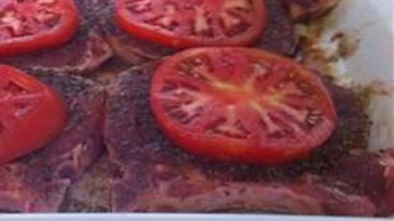 Photo of Italian Twisted Balsamic Pork Chops (Gluten-Free) by chrissyc1011