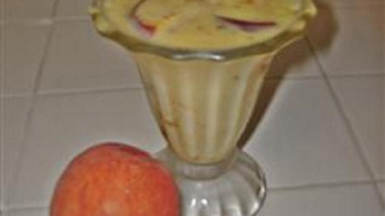Photo of Peaches and Cream Pudding by Karissa