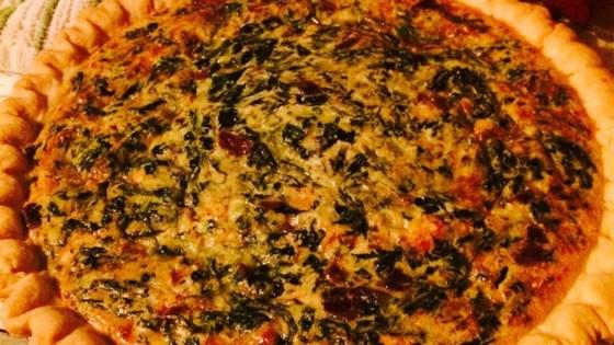 Spinach and bacon quiche recipe allrecipes photo of spinach and bacon quiche by lindalou forumfinder Image collections