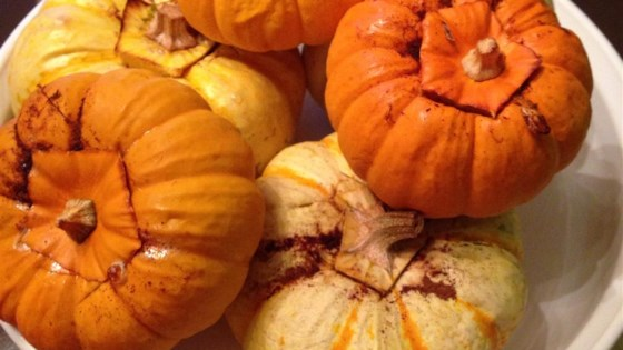 Baked Miniature Pumpkins Recipe Allrecipes Com