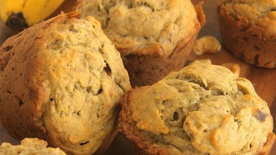 Photo of Banana Oatmeal Muffins by Olivia