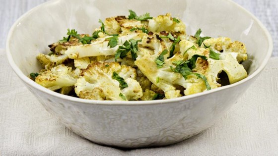 Photo of Roasted Cauliflower With Cumin and Cilantro by Emily @ Truefood