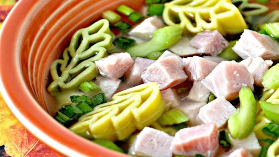 Leftover Ham And Noodles