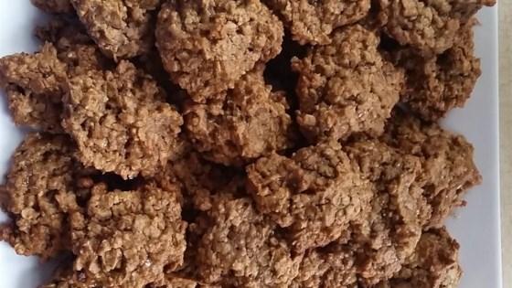 Persimmon Oatmeal Cookies