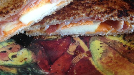 Photo of Apple and Bacon Grilled Cheese by Lauren