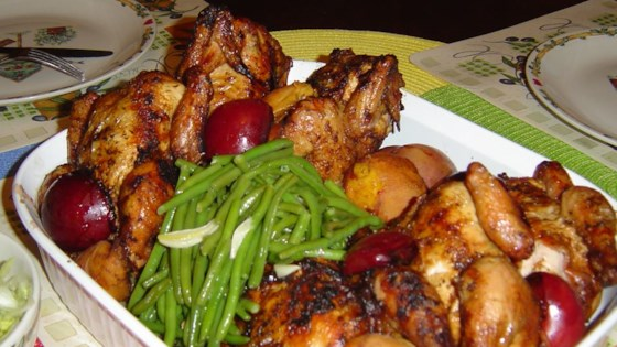 Six Spice Maple Cornish Hens