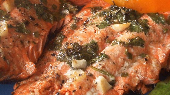 Marinated Wild Salmon
