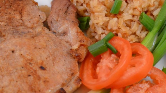 Photo of Baked Pork Chops and Rice by rev'd up chef
