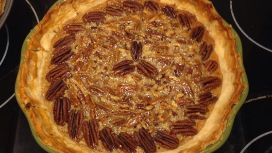 Photo of Old-Fashioned Honey Pecan Pie by MARBALET
