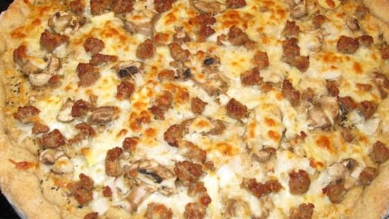 Photo of Rye Pizza Dough by Doug