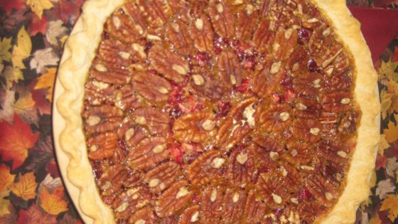 Photo of Cranberry Pecan Pie by Carolyn