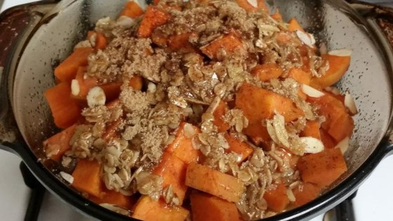Photo of Maple Glazed Sweet Potatoes by Wendy