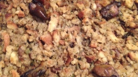 Photo of Mom's Smoked Oyster Stuffing by Jesi A.