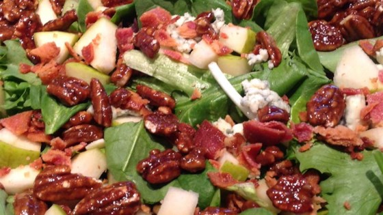 Photo of Apple Blue Cheese Salad by ALRIESTER