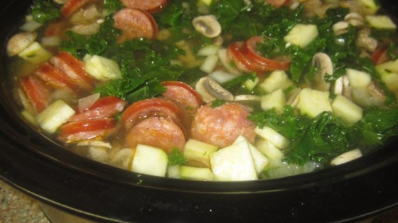 Photo of Kale Soup with Portuguese Sausage by Aimgrrrl