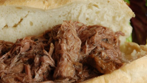 Slow Cooker Italian Beef for Sandwiches Recipe