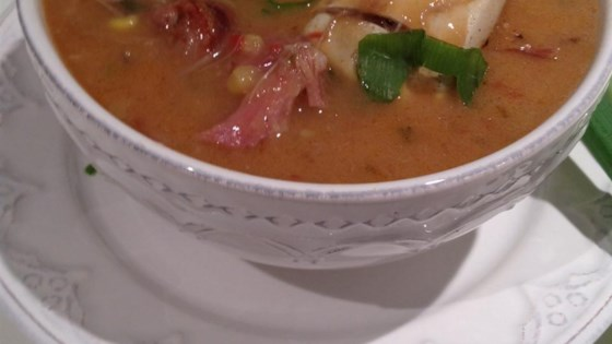 Photo of Chef John's Duck, Sausage, and Shrimp Gumbo by Chef John