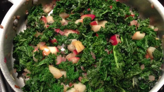 Photo of Sauteed Kale with Apples by suzanne