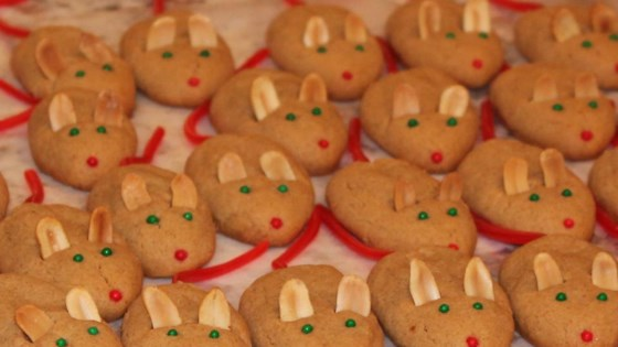 Peanut Butter Christmas Mice Recipe Allrecipes Com