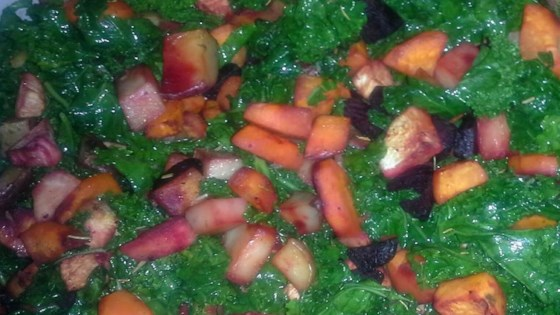 Photo of Roasted Root Vegetables with Kale by Bill 'n Maria Dewhirst