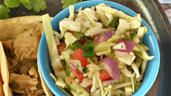 Pico de Gallo with Cabbage  (Mexican Coleslaw)