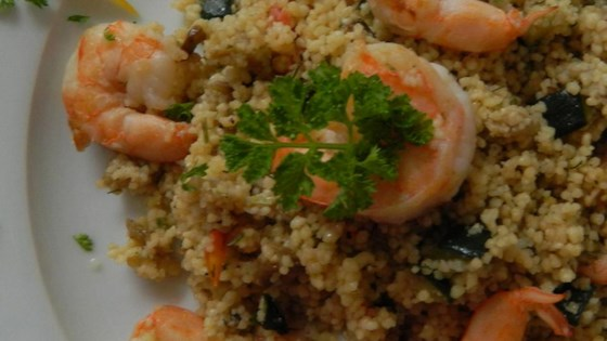 Photo of Shrimp and Vegetable Couscous by Chef John