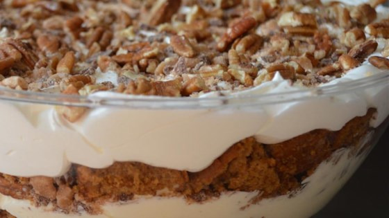 Photo of Easy Pumpkin Cream Trifle by Stacey Lynch