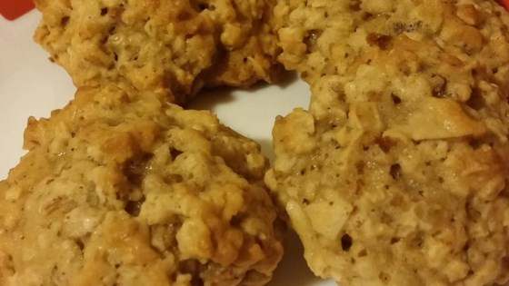 Photo of Coconut Oatmeal Cookies II by Claire Kalpakjian