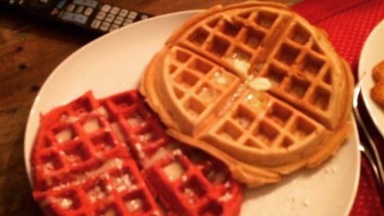 Photo of Red Velvet Belgium Waffles by LITTLEPAW