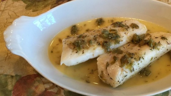 Photo of Lemon Caper Butter Sauce  by Chef John