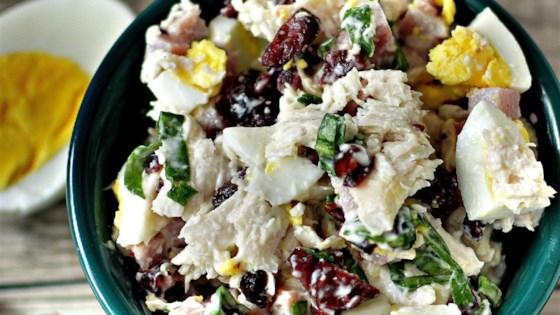 Leftover Thanksgiving Salad