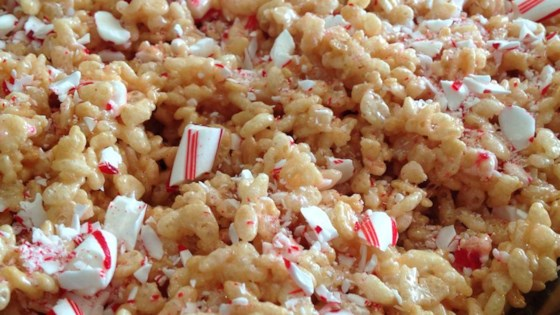 Photo of Peppermint Rice Crispies Squares by CLField