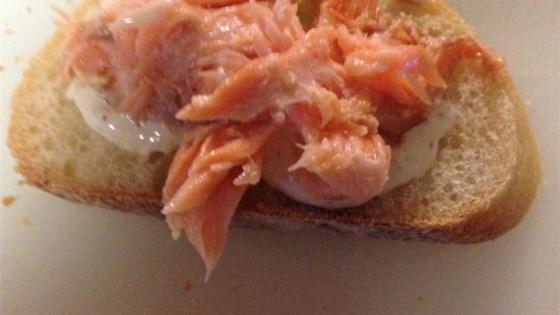 Smoked Salmon Sliders with Garlic Aioli