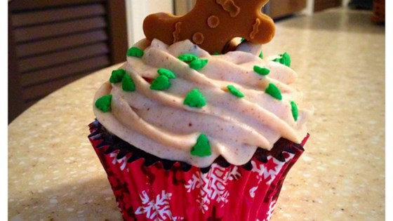 Photo of Gingerbread Cupcakes with Cream Cheese Frosting by Kevin Ryan