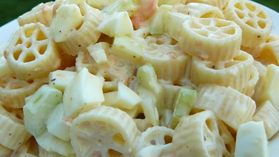 Photo of Amish Picnic Macaroni Salad by deedledeet